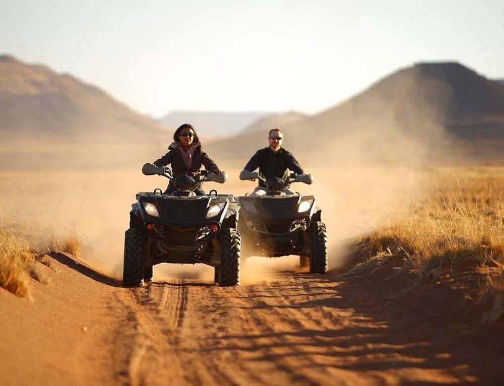 African Dunes, Delta & Falls