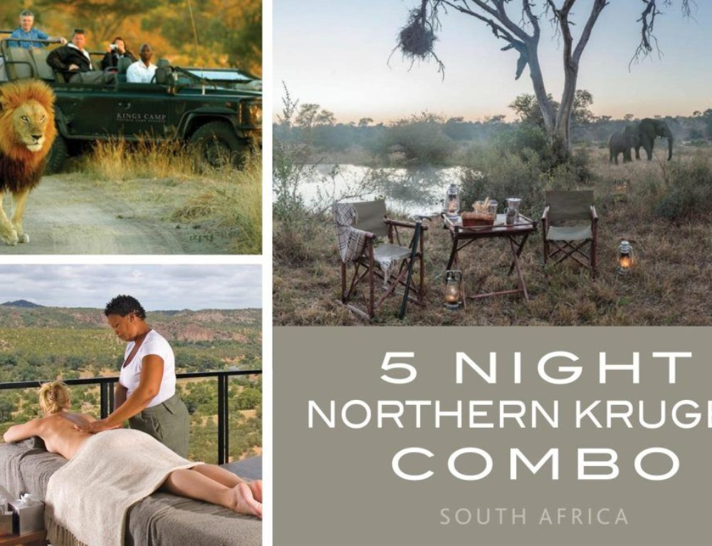 5 Night Northern Kruger Combo