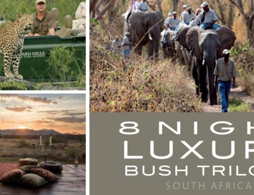 8 Night Luxury Bush Trilogy