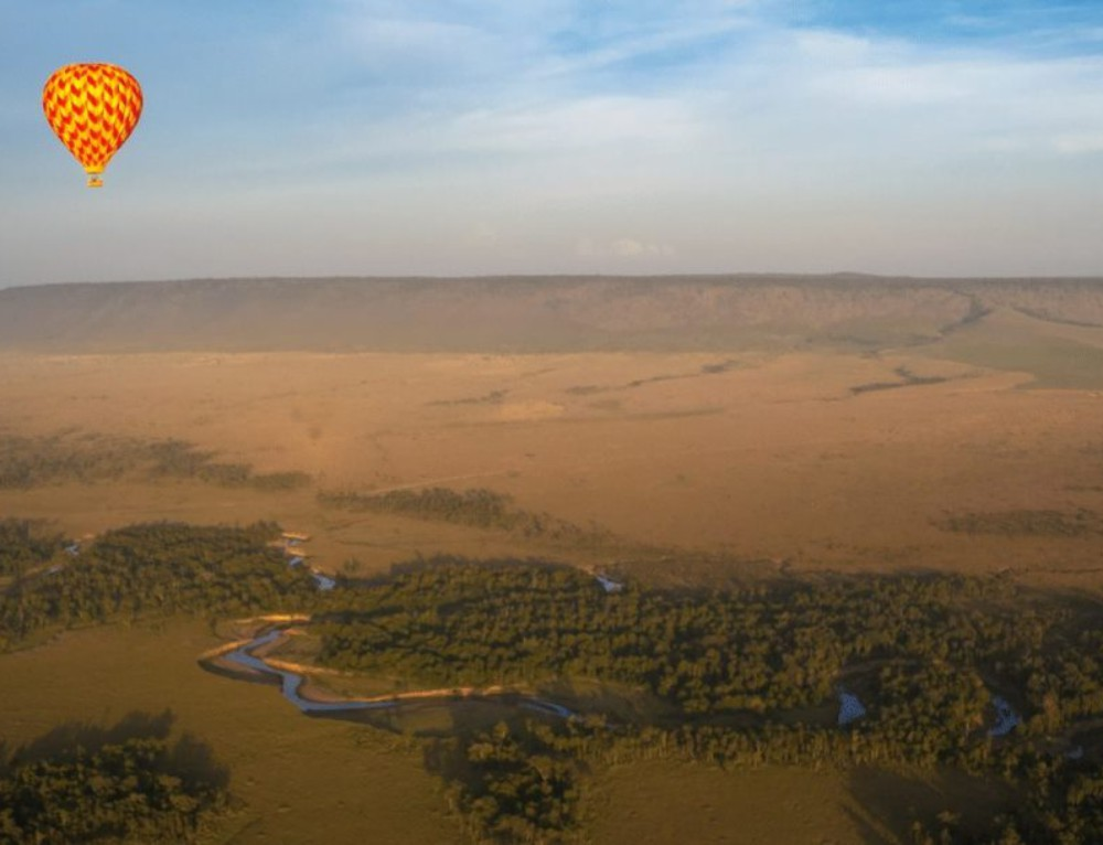Angama Mara – Free Hot Air Balloon Ride