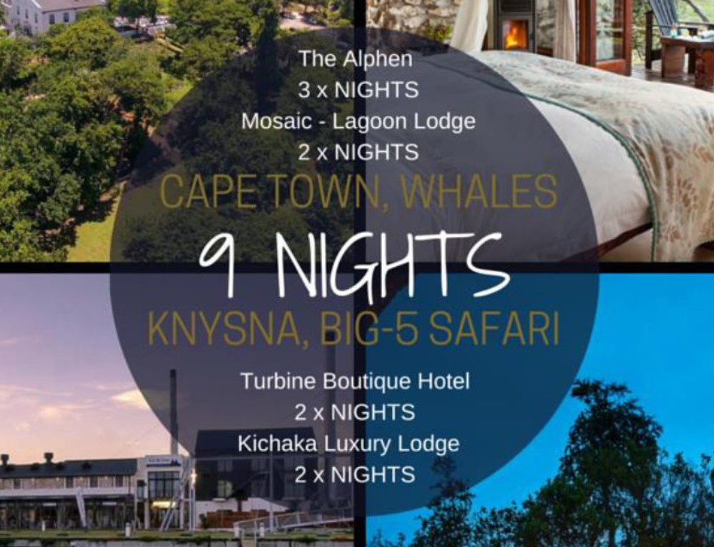 Cape Town, Garden Route and Safari