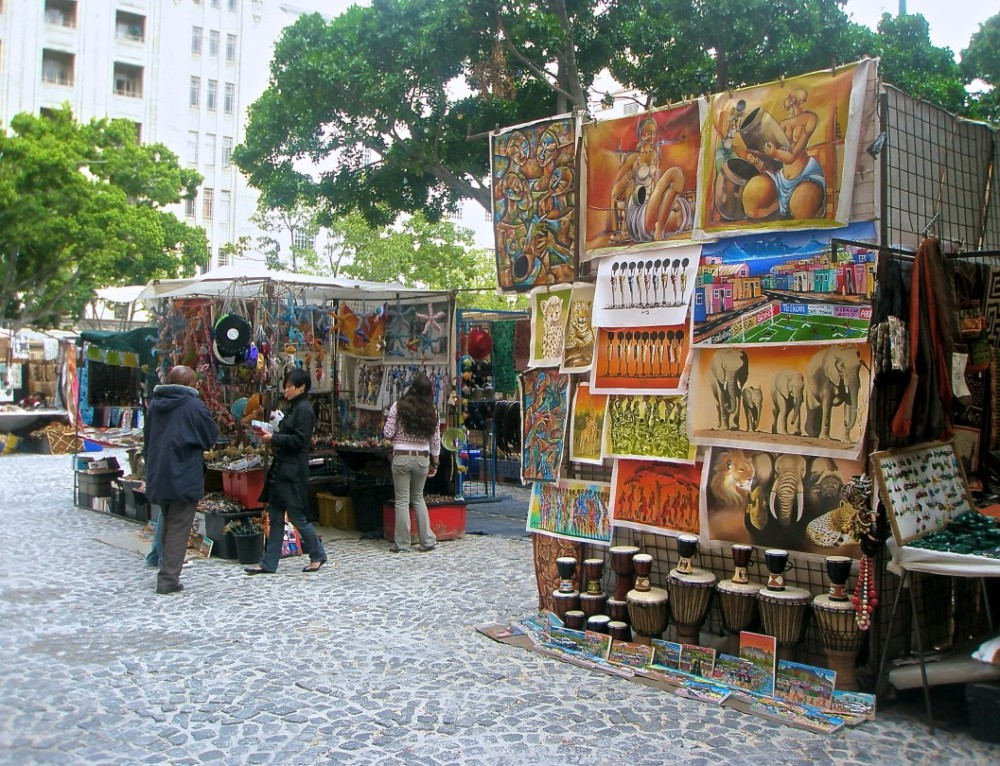 GreenMarket Square – Cape Town