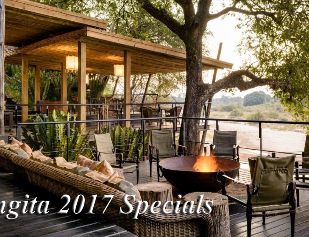 Singita 2017 Specials