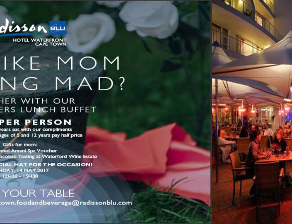 Mother's Day at Radisson Blu Waterfront