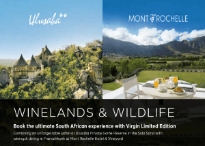 Winelands and Wildlife | African Safaris with Taga