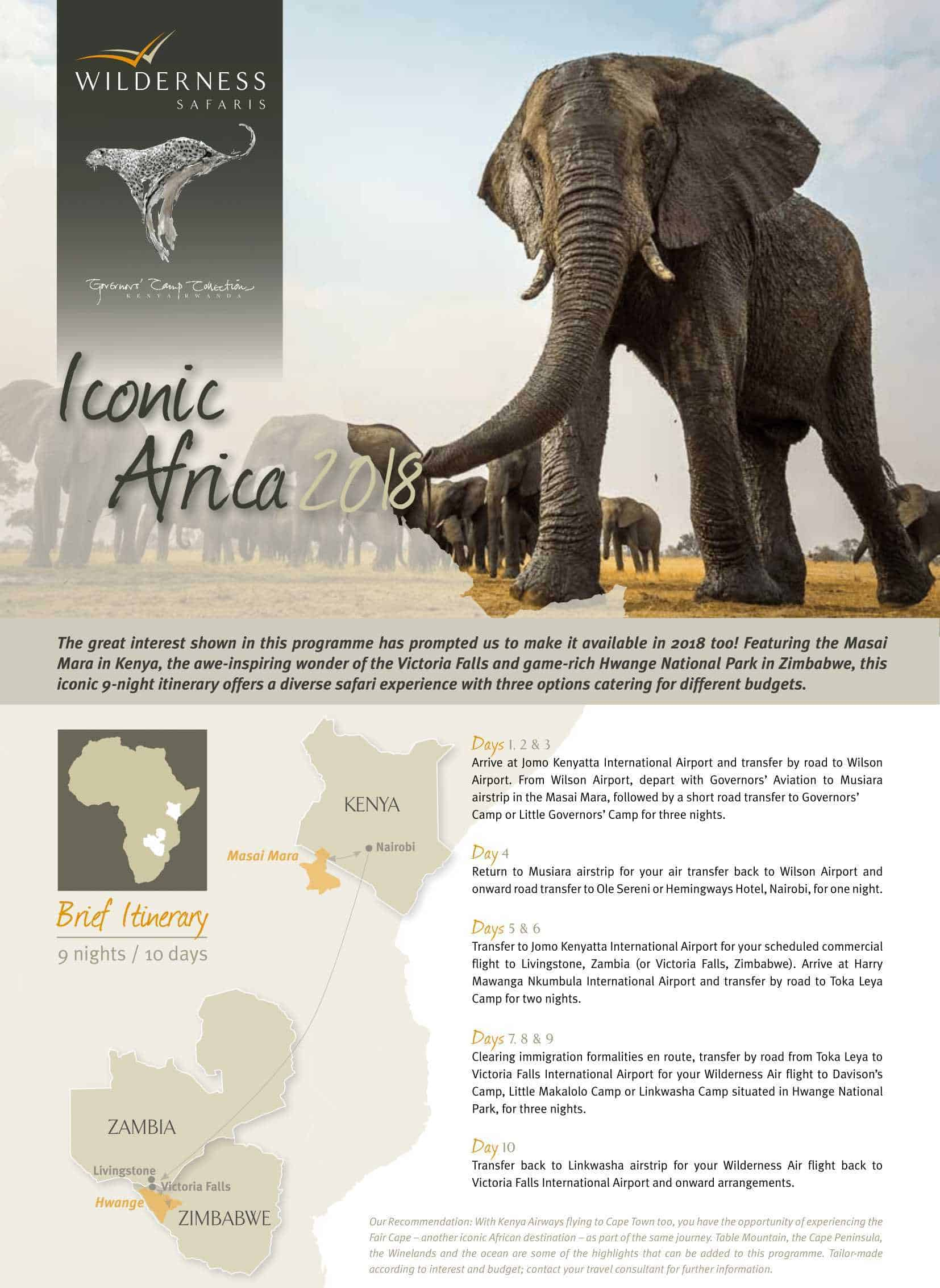 Iconic Africa   African Safaris with Taga