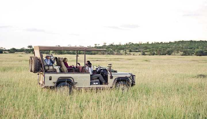 Singita Explore Game Drive