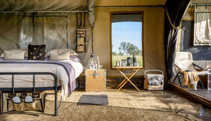 Singita Explore Tent Interior