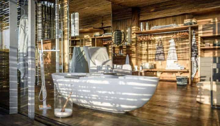 Singita Lebombo Villa Bath
