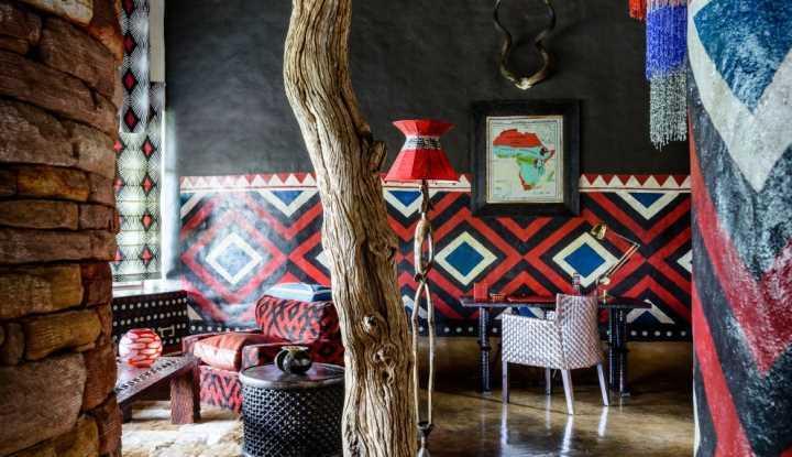 Singita Pamushana Villa Sitting Room