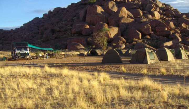 Day Namibia Tour Camping