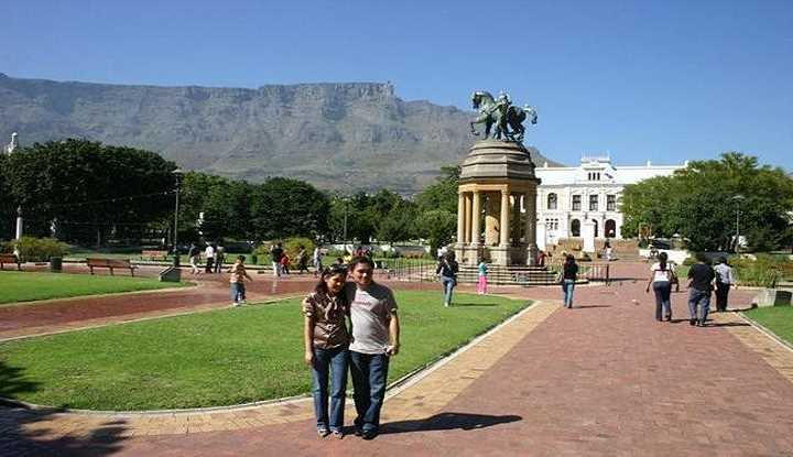 City and Table Mountain