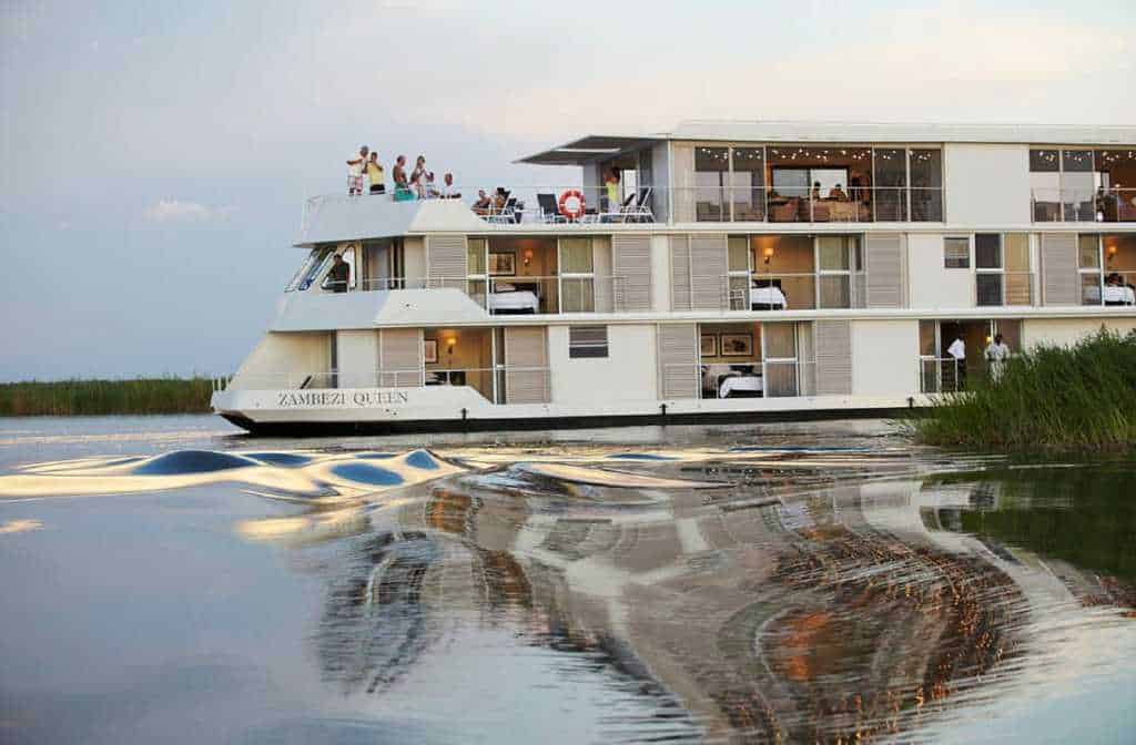 Chobe River Houseboats | African Safaris with Taga