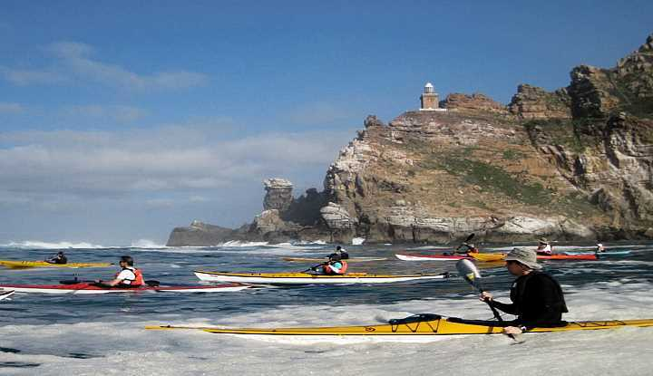 Cape Peninsula & Sea Kayaking Tour (FD) | African Safaris with Taga