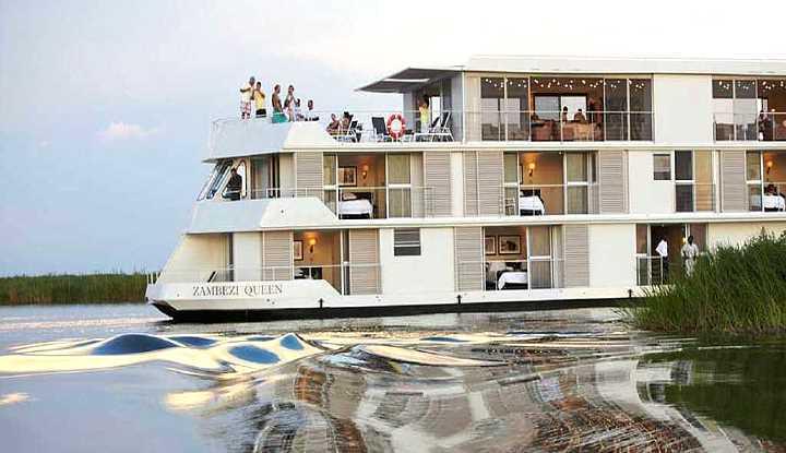 Zambezi Queen Houseboat | African Safaris with Taga