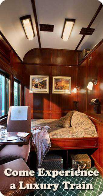 Luxury Train Journeys in Africa