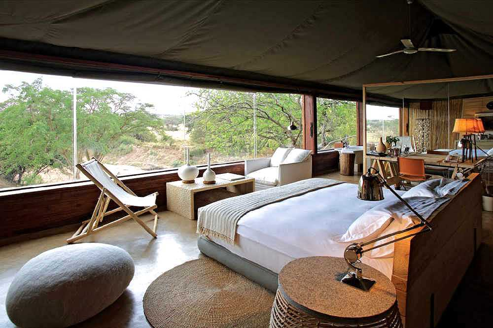 Safari Lodges and Camps in Tanzania