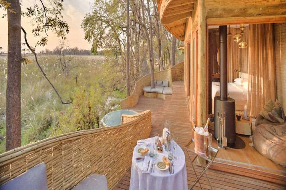 Sandibe Safari Lodge Guest Room