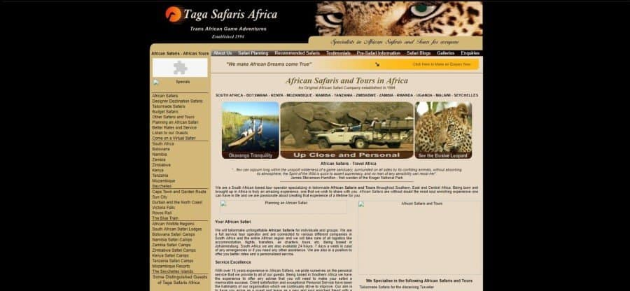 About Us | Taga Safaris