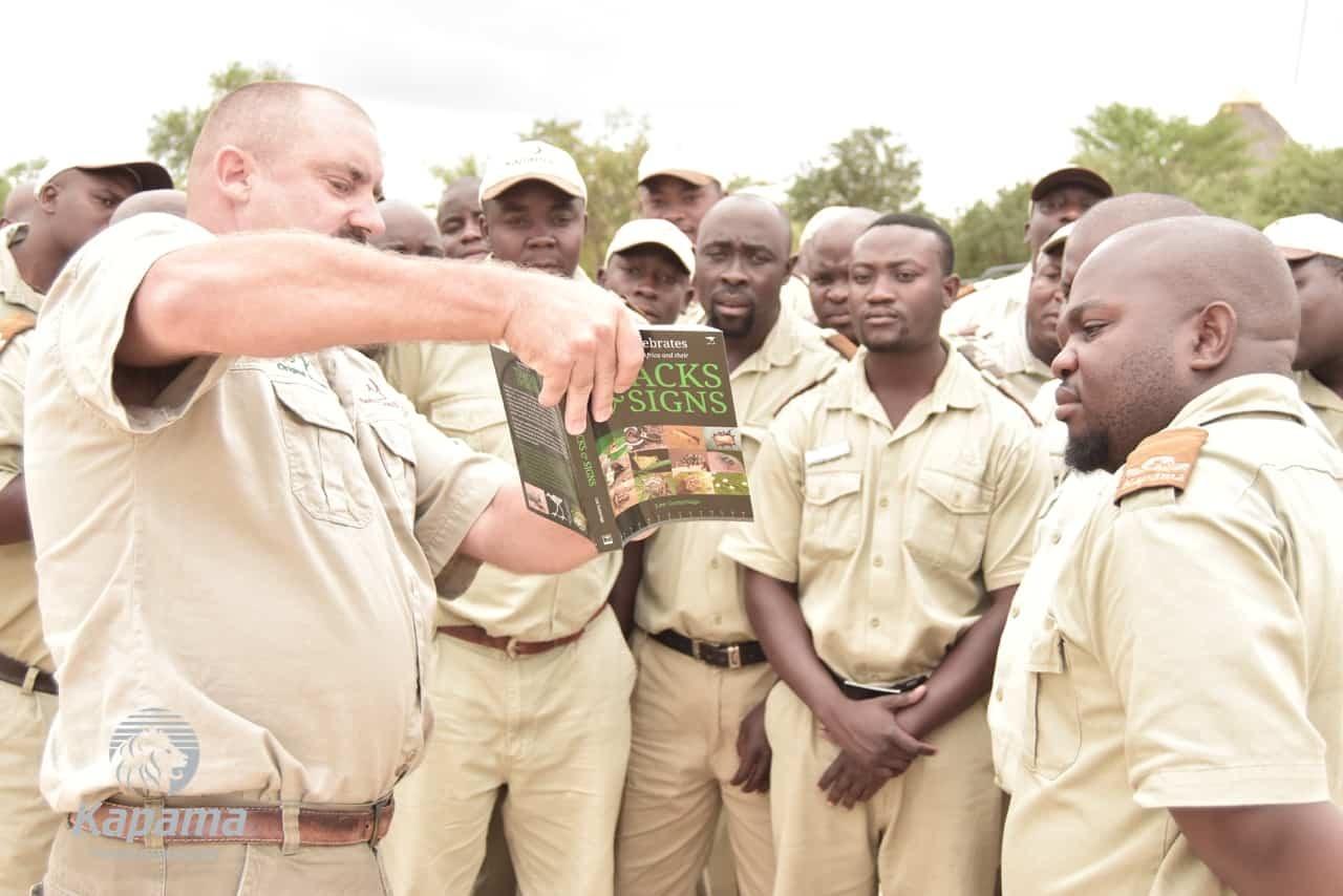 Training Trackers at Kapama | African Safaris with Taga