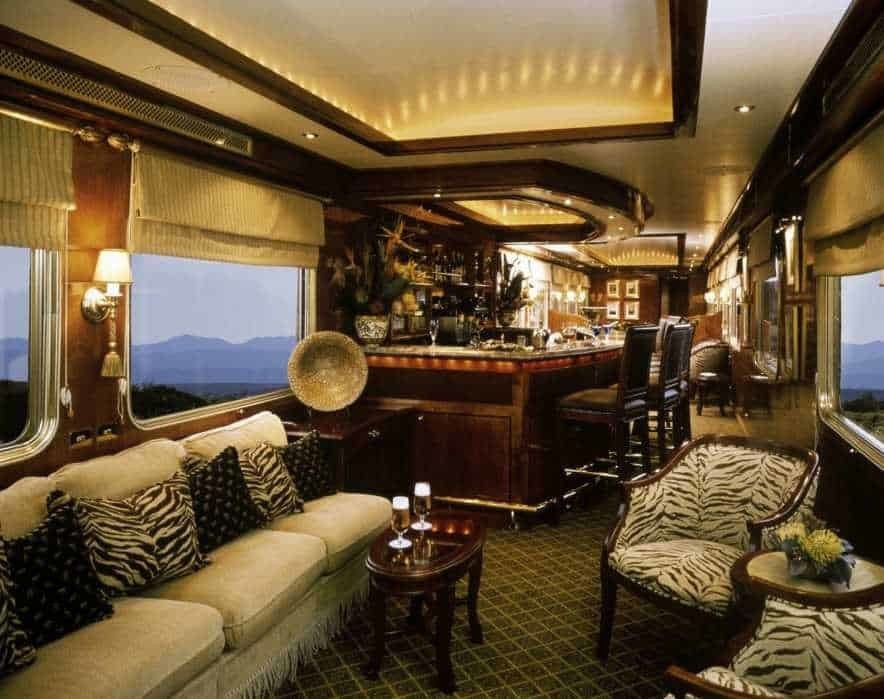 Luxury Train Safaris Blue Train