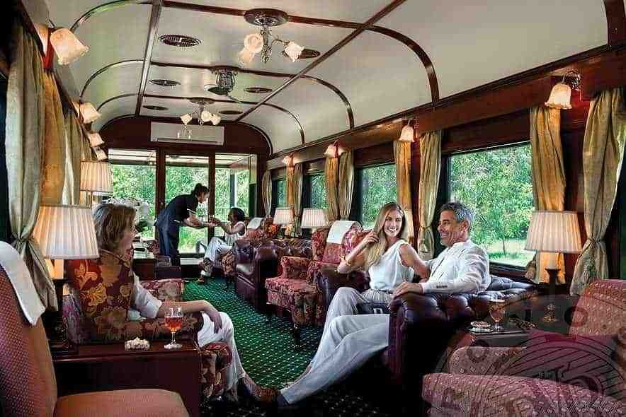 Luxury Train Safaris Rovos Rail