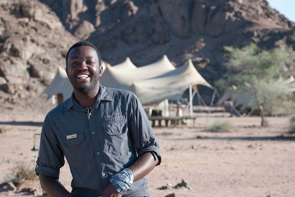 15 Questions with Wilderness Guide Abner Simeon | Taga Safaris