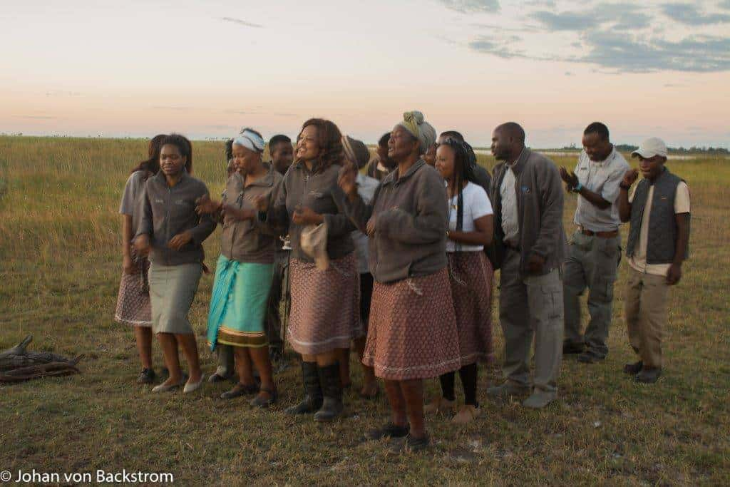 Guests Celebrate their 35th Wedding Anniversary at DumaTau | African Safari with Taga