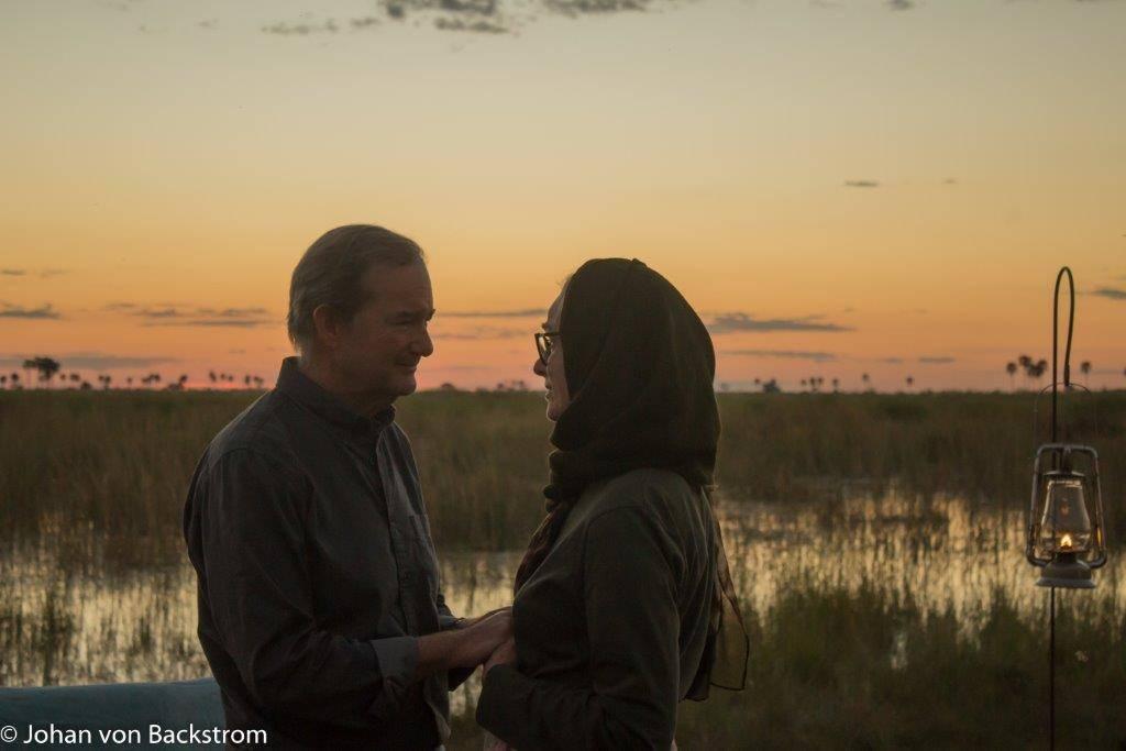 Guests Celebrate their 35th Wedding Anniversary at DumaTau | African Safaris with Taga