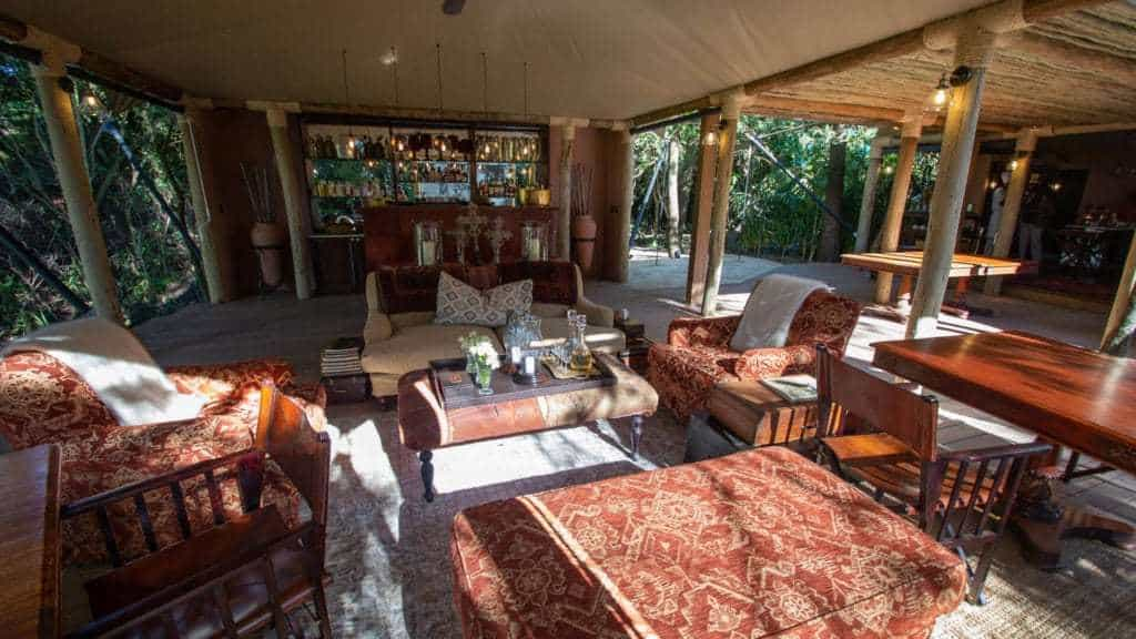 andBeyond Bateleur Camp Guest Area