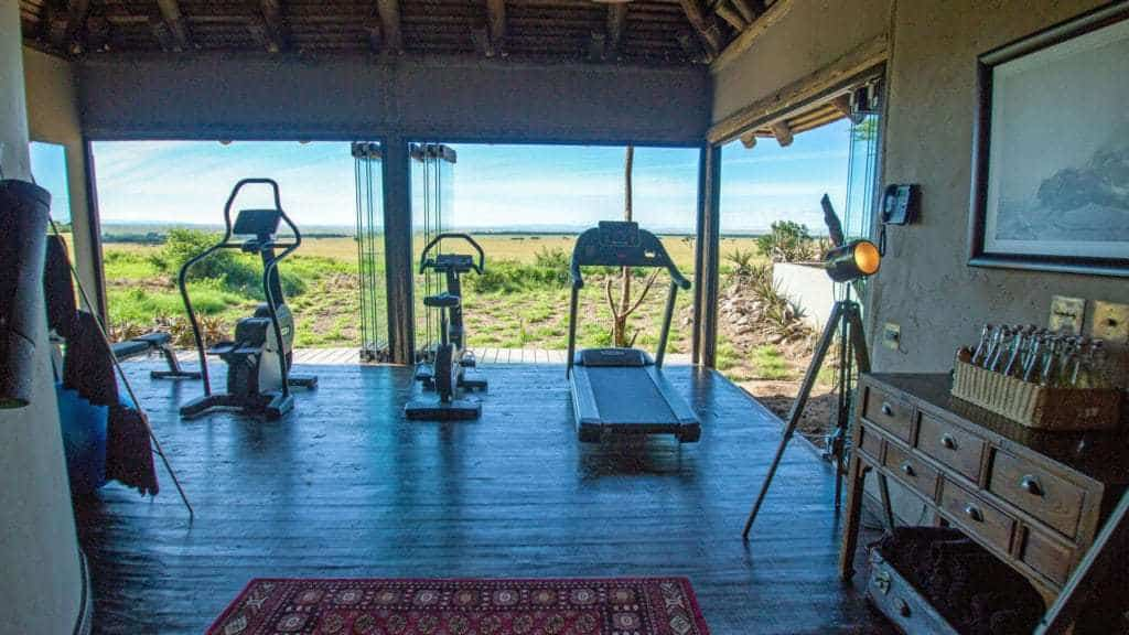 andBeyond bateleur Camp Gym