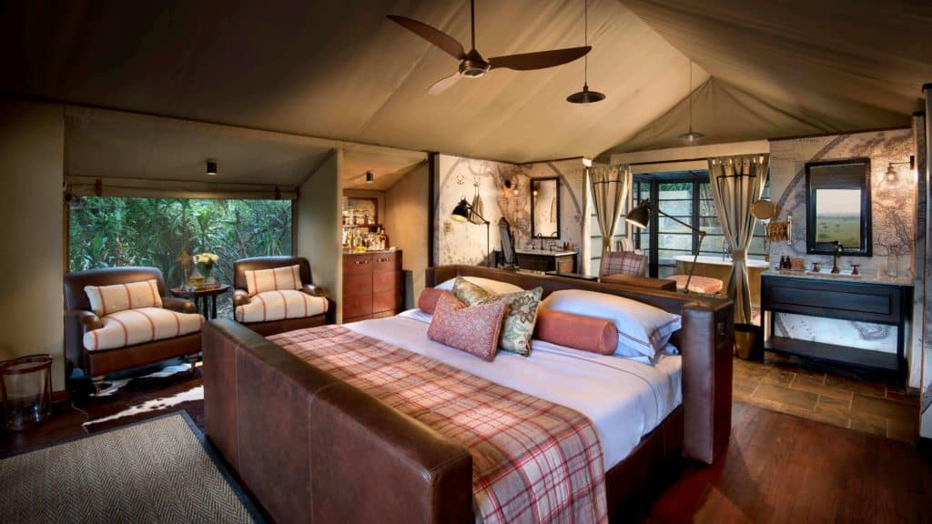 bateleur camp north room
