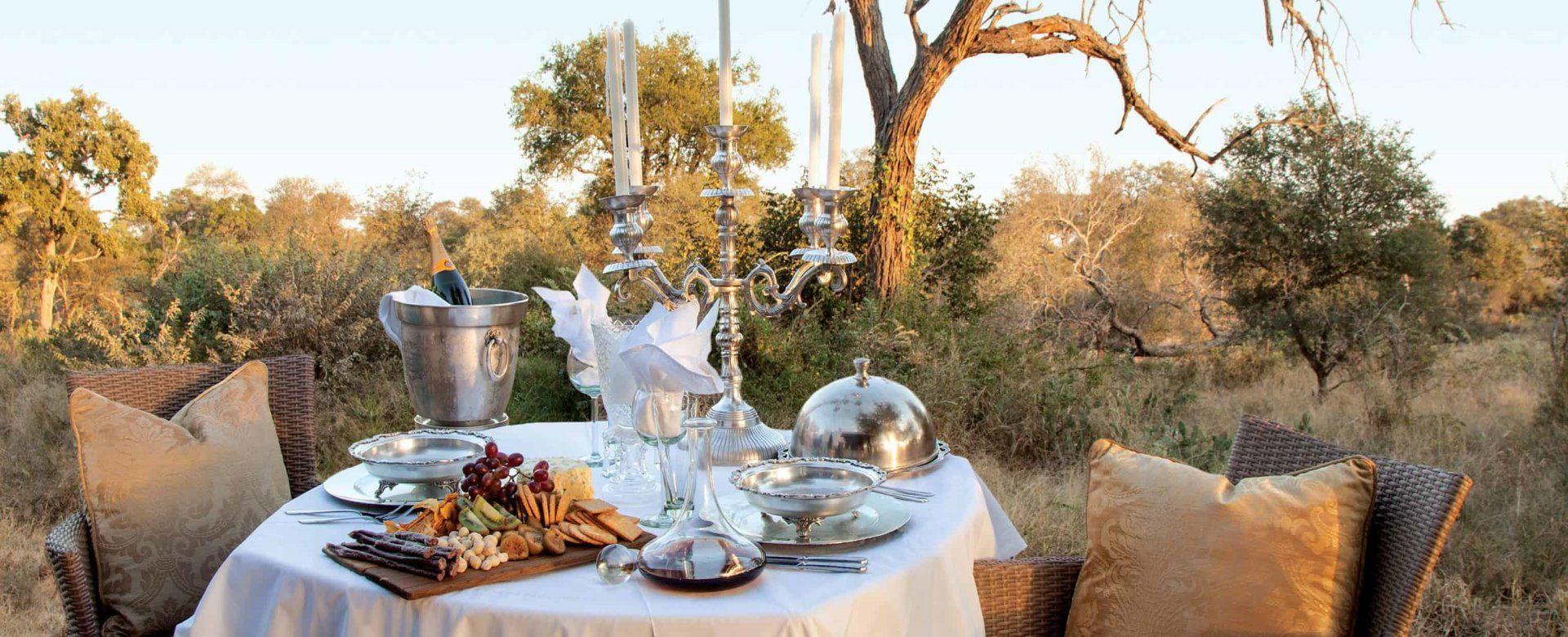 Exclusive Private Safaris - Dining