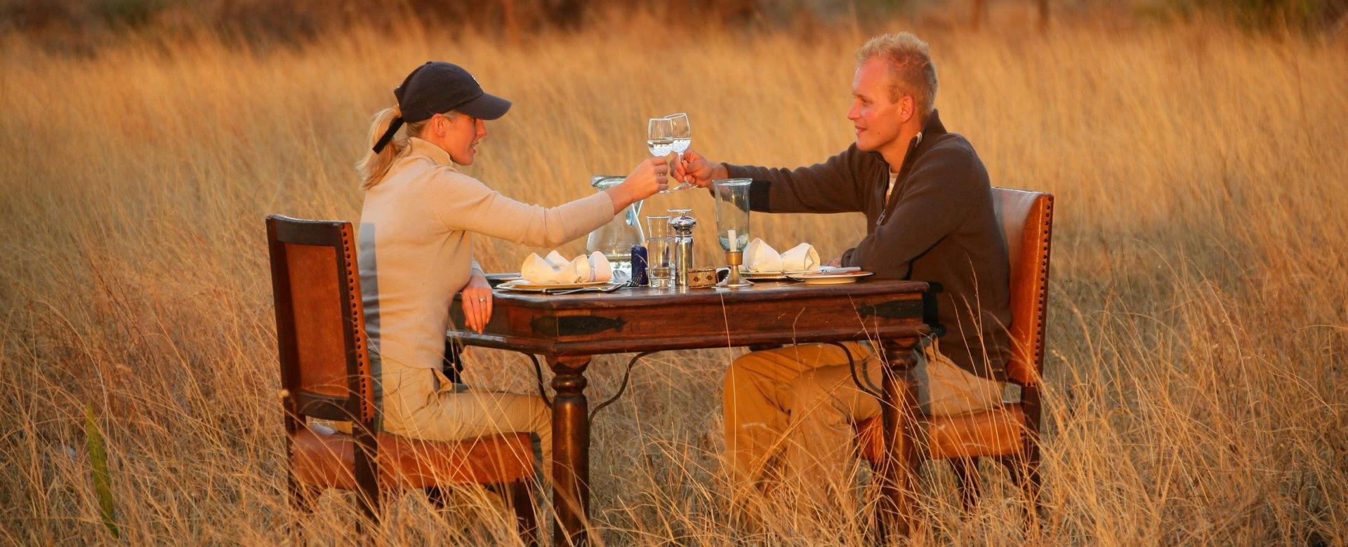 Honeymoon Safaris - Sundowners