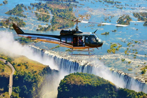 African Safaris Helicopter Flights Victoria Falls