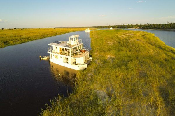 African Safaris Houseboat Chobe River