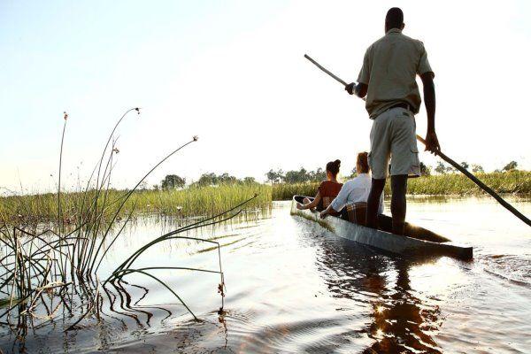 African Safaris Makoro Trip Okavango Delta