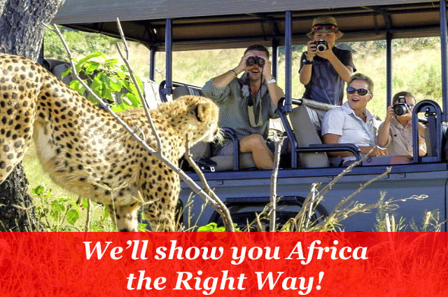 African Safaris done the Right Way