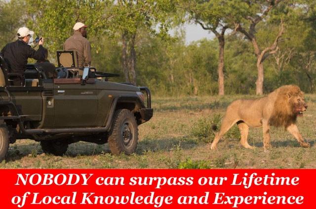 Exclusive Private Safaris - Taga Safaris Specialties
