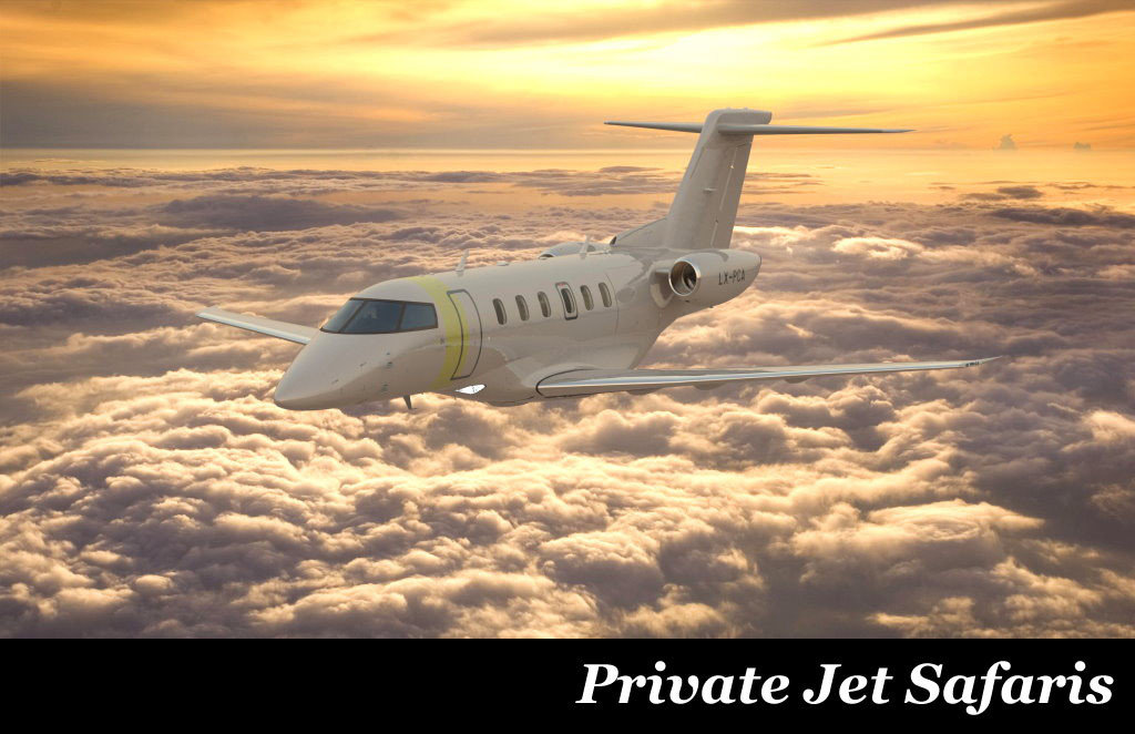 Private Jet Safaris by Taga Safaris Africa