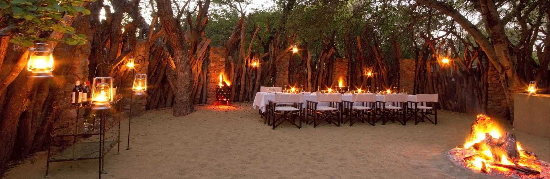 Tailormade Safaris Boma Dinner